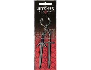 The Witcher Steel E Silver Portachiavi Jinx