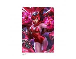 Marvel Art Print Scarlet Witch 46 X 61 Cm - Unframed Sideshow Collectibles
