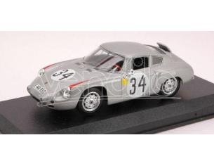 Best Model BT9381 PORSCHE ABARTH N.34 7th LM 1962 E.BARTH-H.HERRMANN 1:43 Modellino