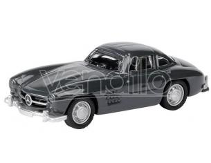 Bub 06704 Mb 300sl Coupe' Grey Metallo 1/87 Modellino