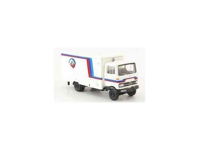 Bub 07852 Mercedes-Benz LP608 Service Truck Bmw MotorSport 1:87 Modellino