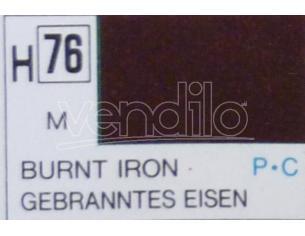 Gunze Gu0076 Burnt Iron Metallolic Ml 10 Pz.6 Modellino