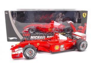 Hot Wheels HWN2075 FERRARI M.SCHUMACHER '01 ELITE 1:18 Modellino
