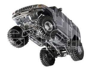 Real Concepts Hummer 10002-04 Hummer H2 Sut Gunmetallo Gray 1/24 Modellino
